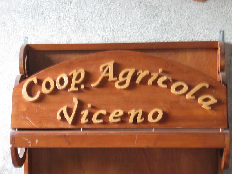 Former coop sign